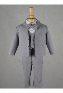 Costume gris  noeud papillon  bébé enfant La cour des mariés